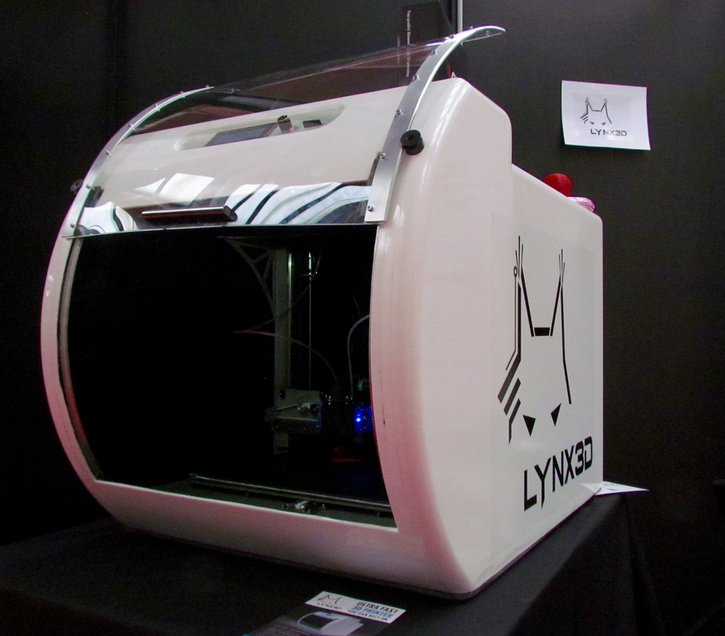 The Large and Speedy Lynx3D Printer