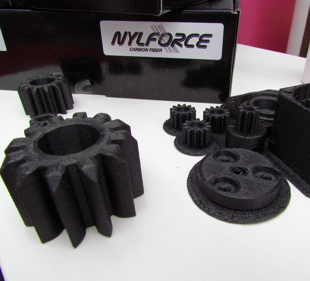 Fiber Force's Incredible Nylon-Carbon Fiber Filament