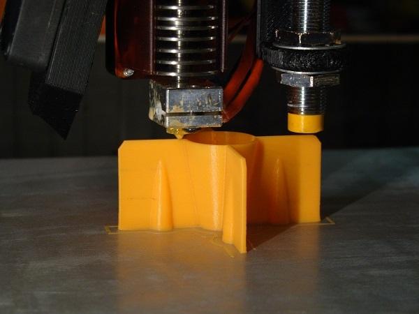The TeeBot Portable 3D Printer