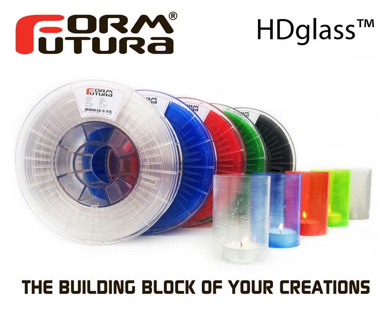 """Formfutura Releases """"HDGlass"""" Filament"""