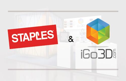 iGo3D and Staples Take a Deeper Step Into 3D Printing