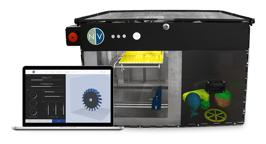Automated Part-Removing 3D Printer: The NVPro