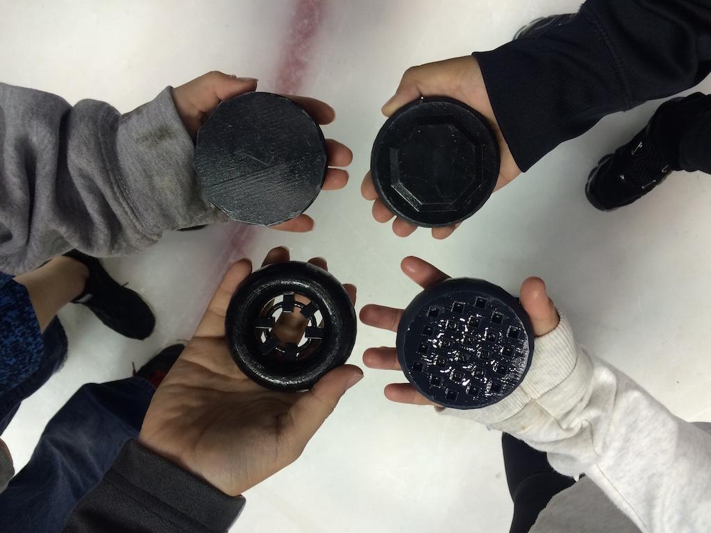Anaheim Ducks Reach Out With 3D Printing