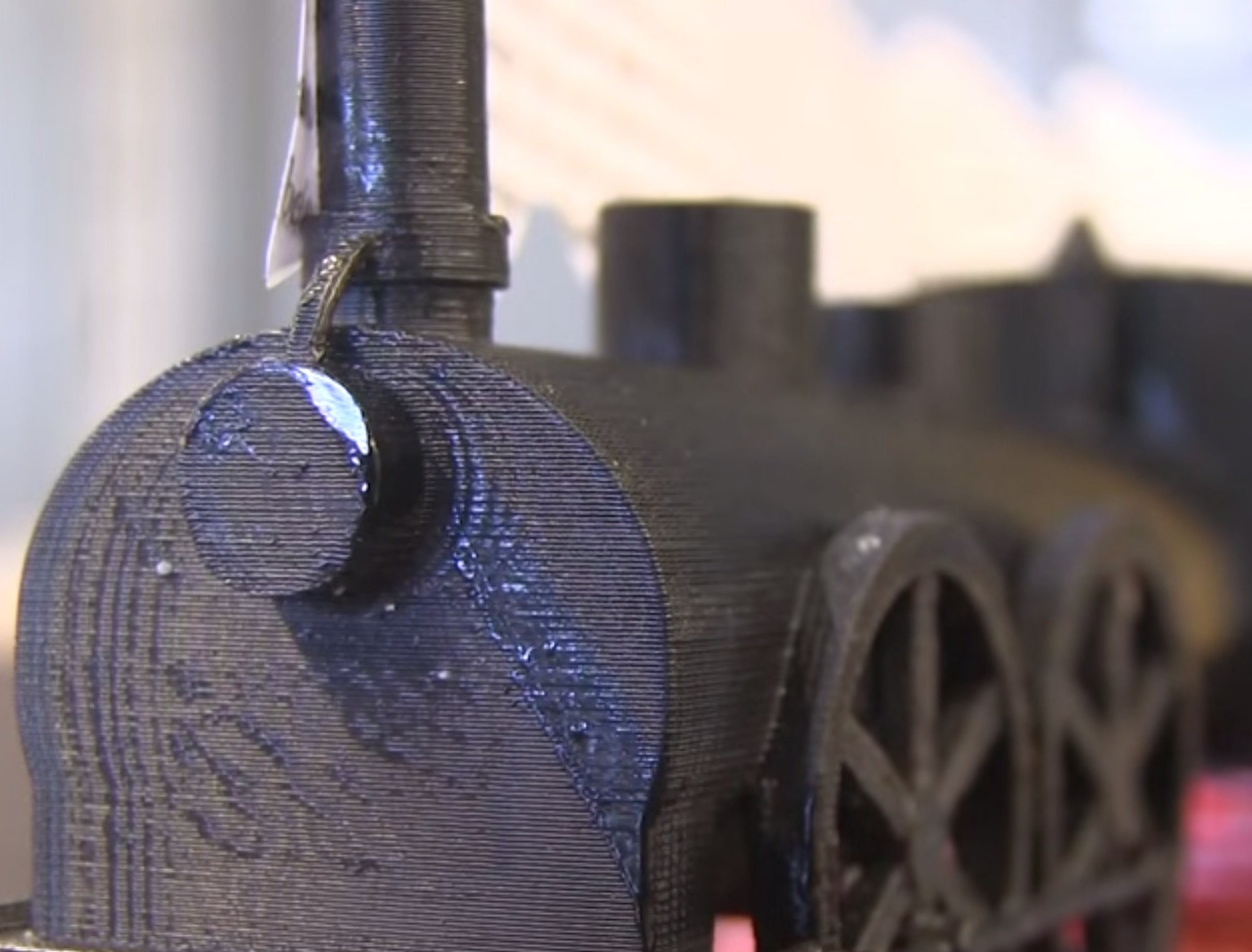 Attempt to 3D Print Zola's Train Reveals a Truth of 3D Design