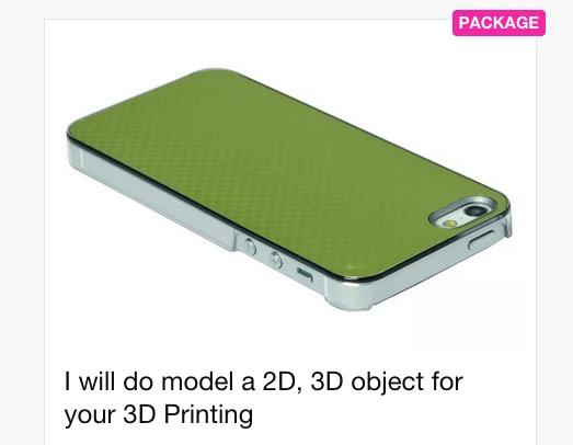 Not a 3D Modeler? Hire One!