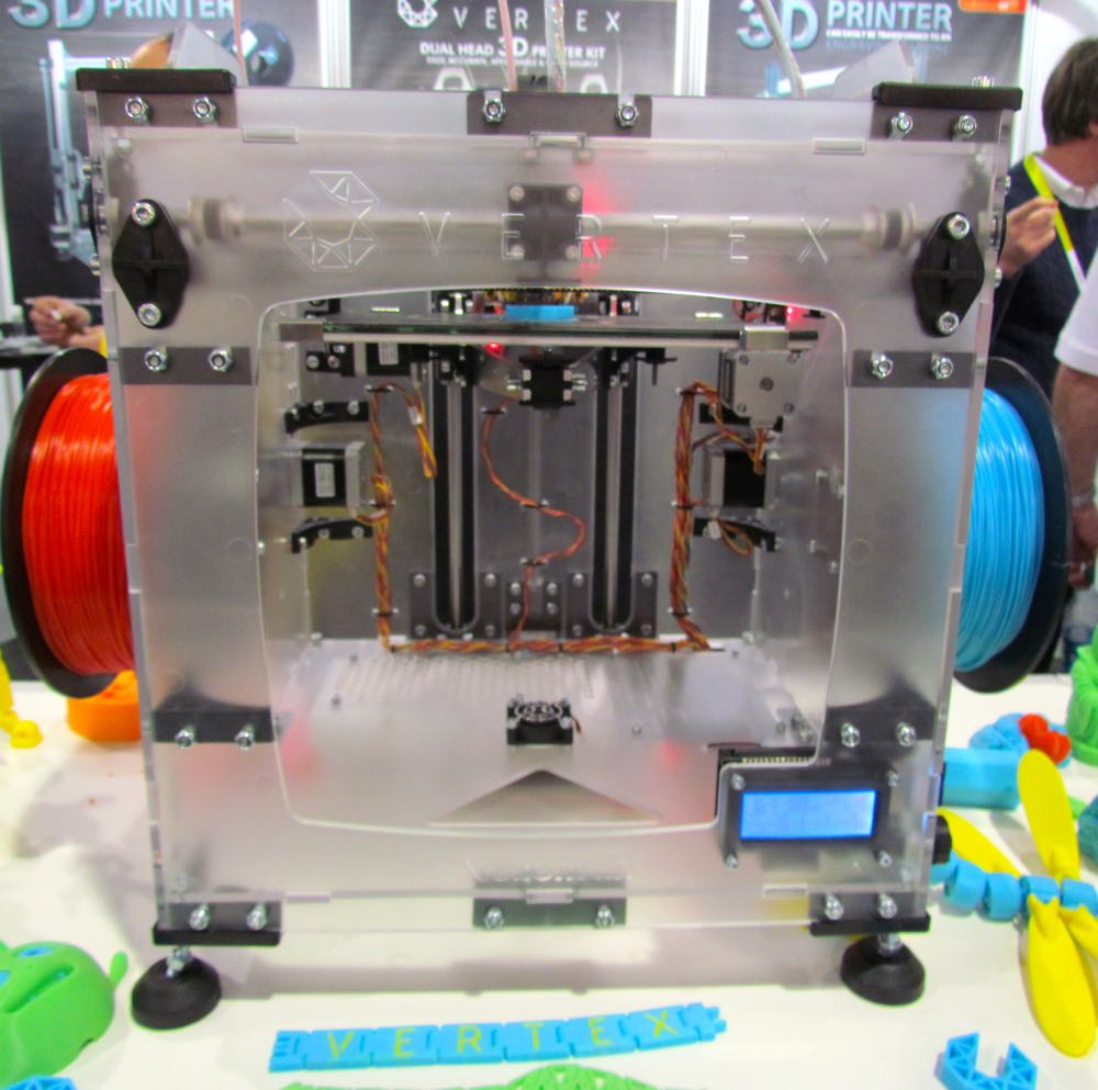 The Vellemann Vertex 3D Printer