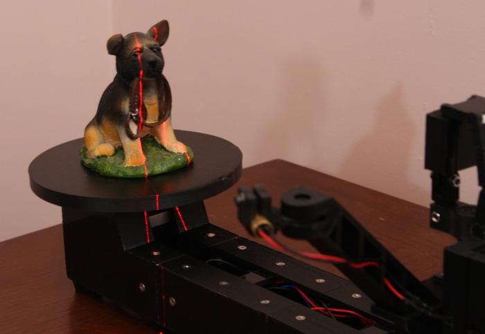 The ATLAS 3D Scanner