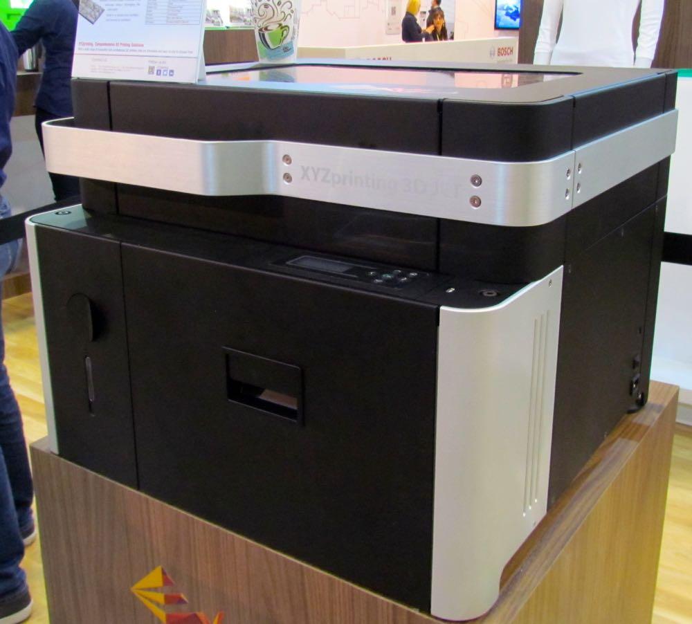 XYZ Printing Working on Secret Resin Machine