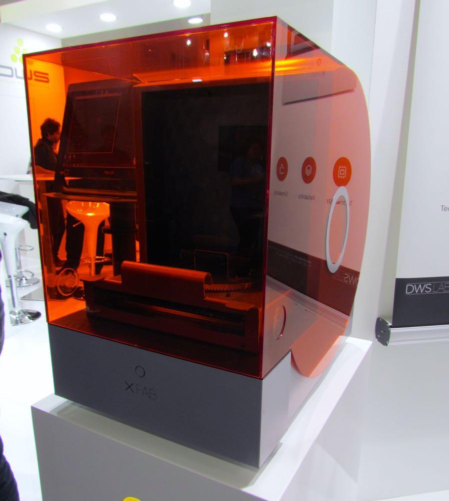 The DWS XFAB Dental 3D Printer