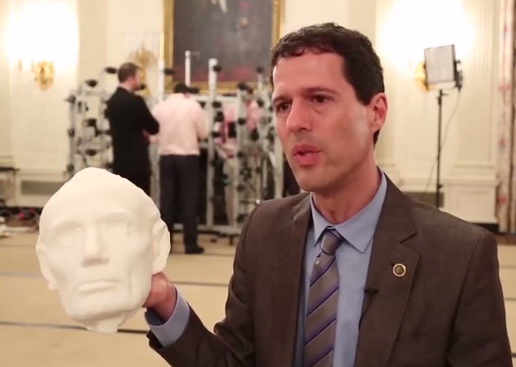 President Obama is 3D Scanned