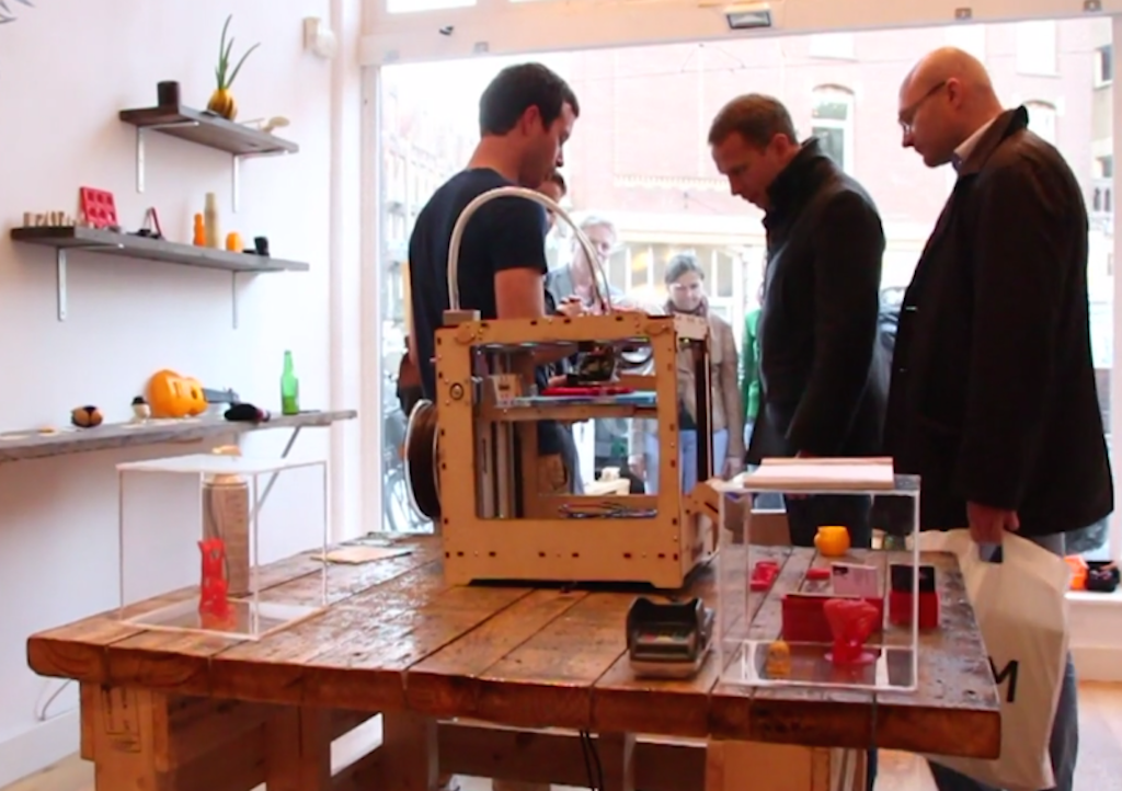 Amsterdam Gets a 3D Print Retail Store