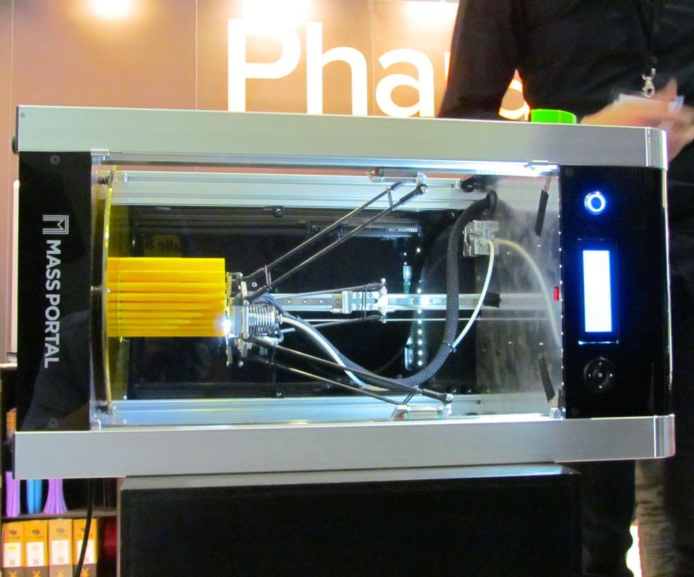 Mass Portal's Pharaoh Delta 3D Printer