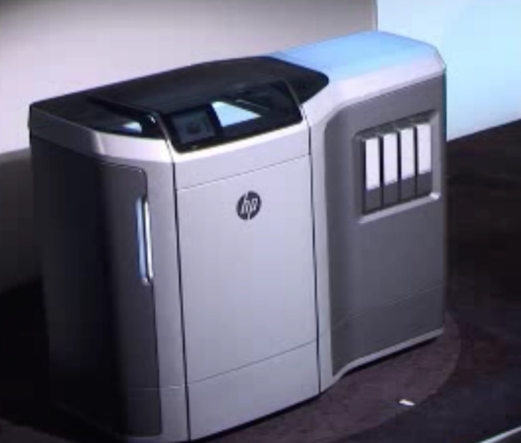 HP's New 3D Printing Process