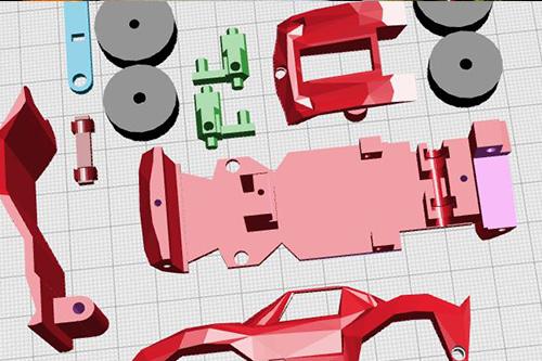 3D Printed Racing Cars!