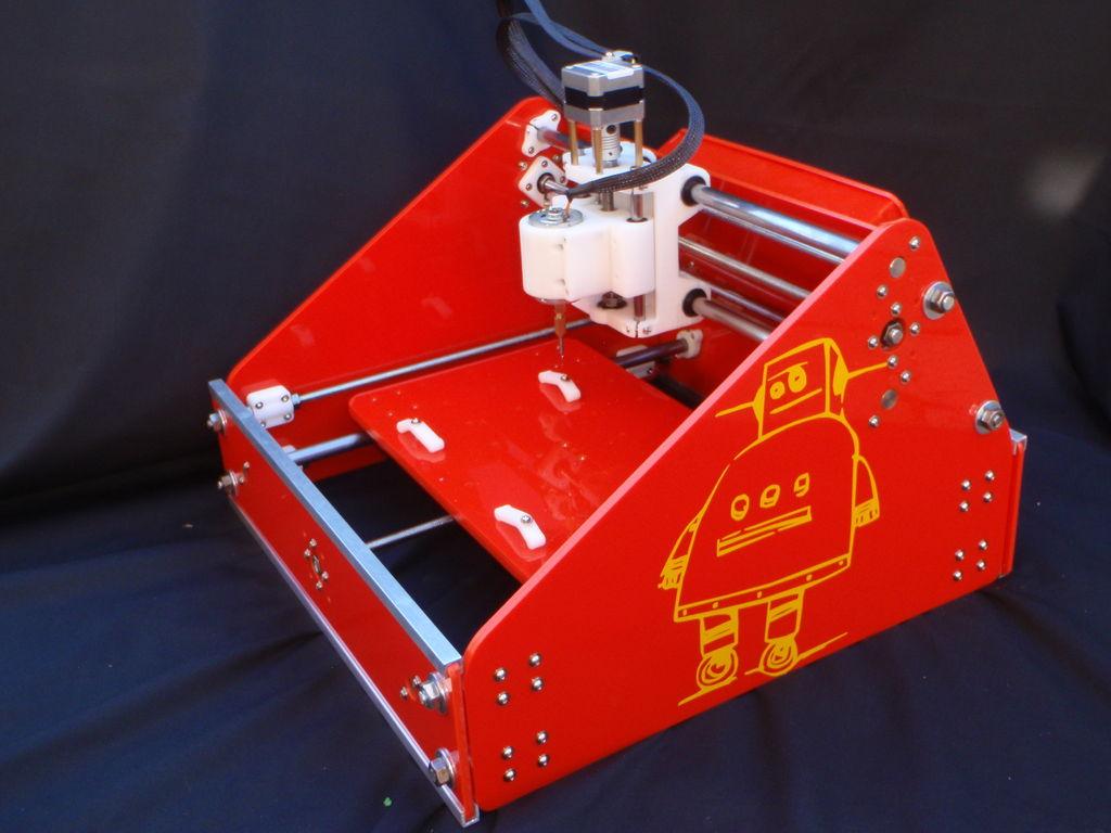 It's a 3D Printed CNC Mill