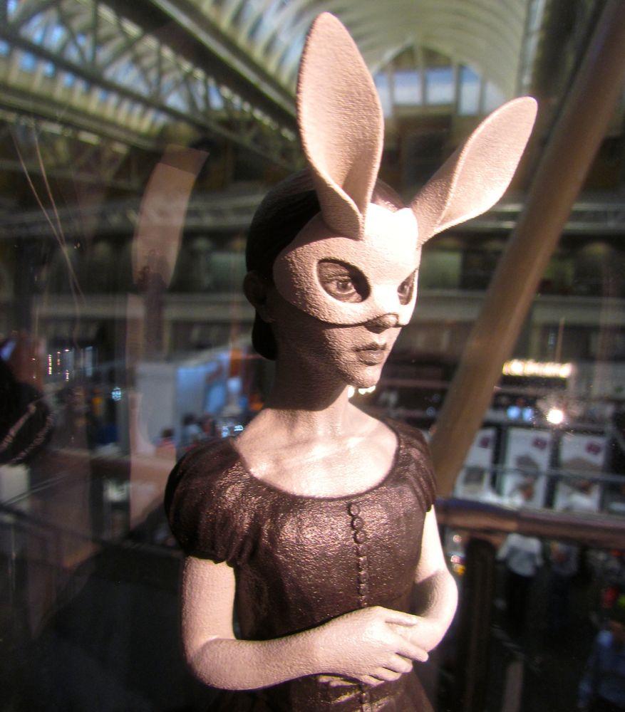 Design of the Week: White Rabbit Figurine