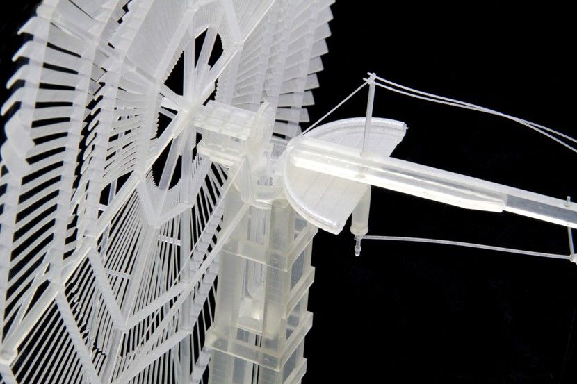 Historic Windmills Brought Back to Life with 3D Printing