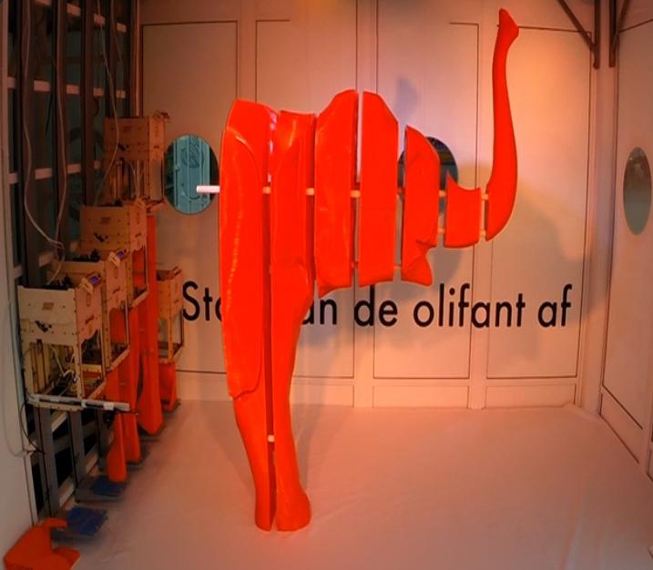 A 3D Printed Elephant Helps Save Elephants