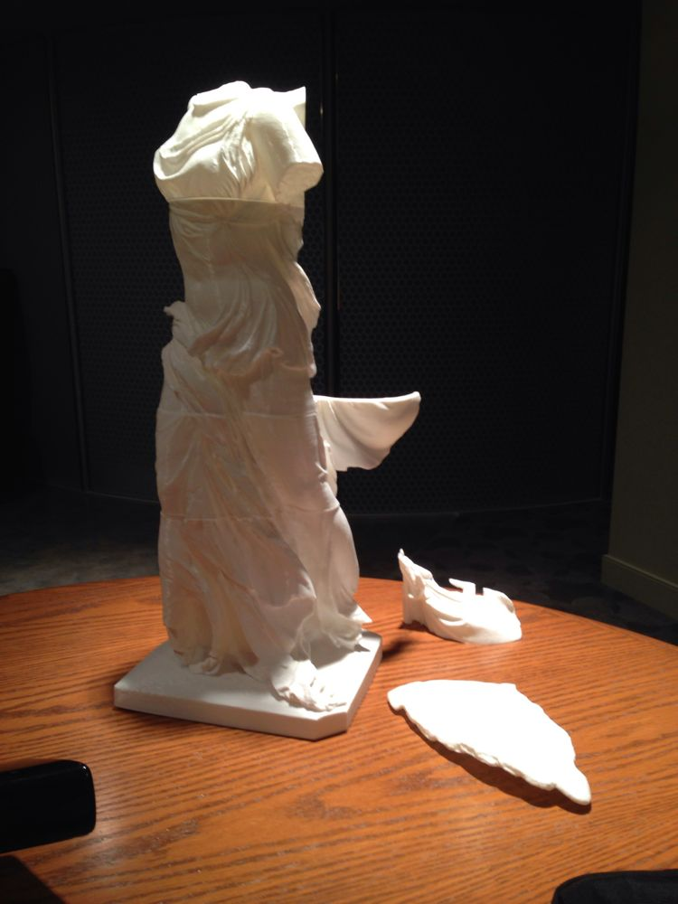 3D Printing Winged Victory