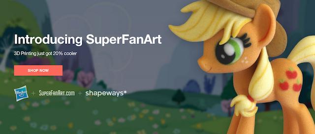 Shapeways Partners with Hasbro?
