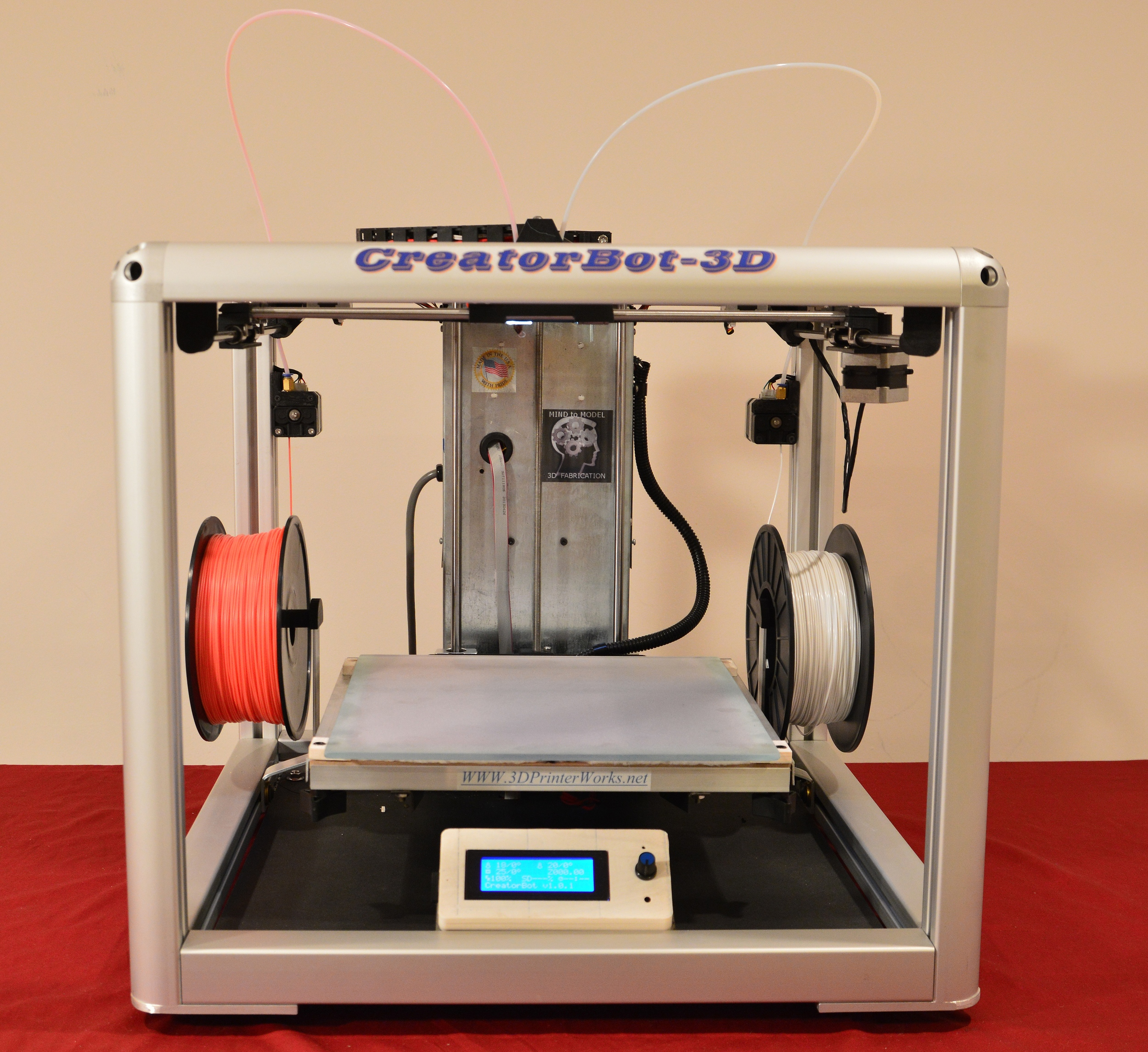 The CreatorBot 3D Printer