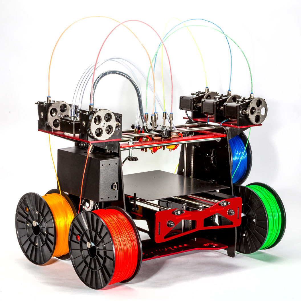 A Five-Extruder 3D Printer – With No Name