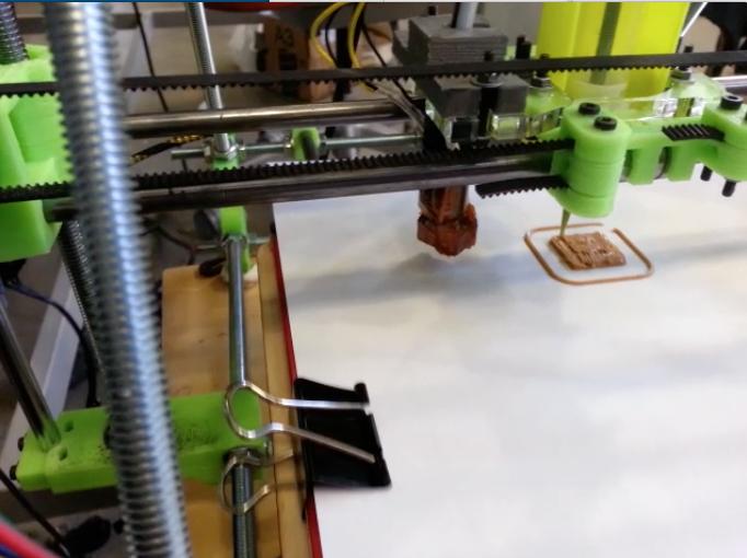 The Rabbit Proto 3D Prints Circuits
