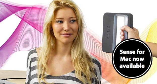 Cubify's Sense 3D Scanner Now Support OS/X