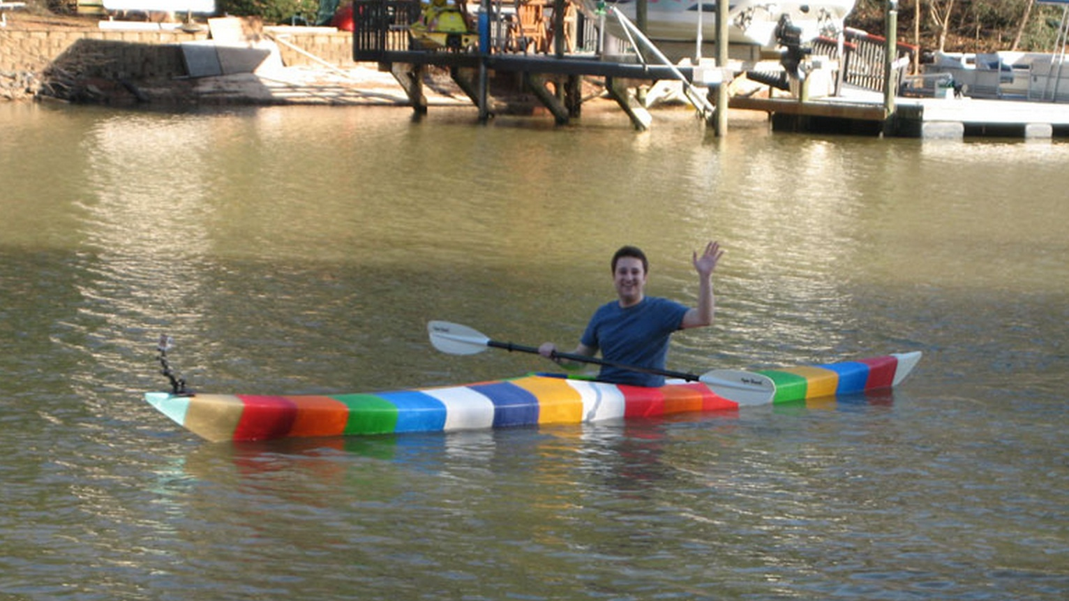 Oh, Just a 3D Printed Boat