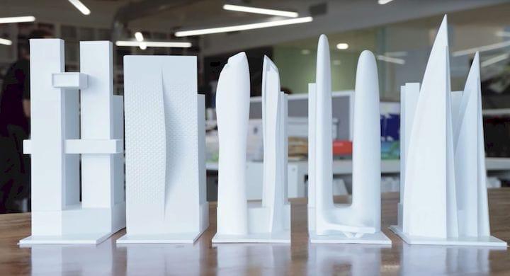 Killa Design 3D prints building models for design feedback [Source: Ultimaker]