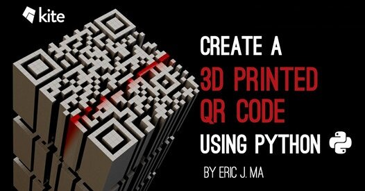 Creating 3D Printed WiFi Access QR Codes with Python