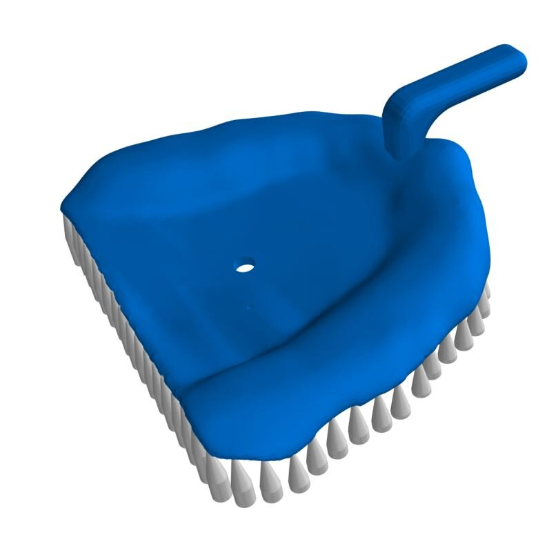 An impression tray, part of the digital workflow process [Image: Kumovis]