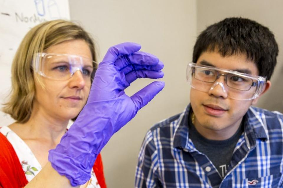 The Green Part Treatment for 3D Printed Glass?