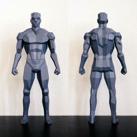 , Design of the Week: Low Poly Figure