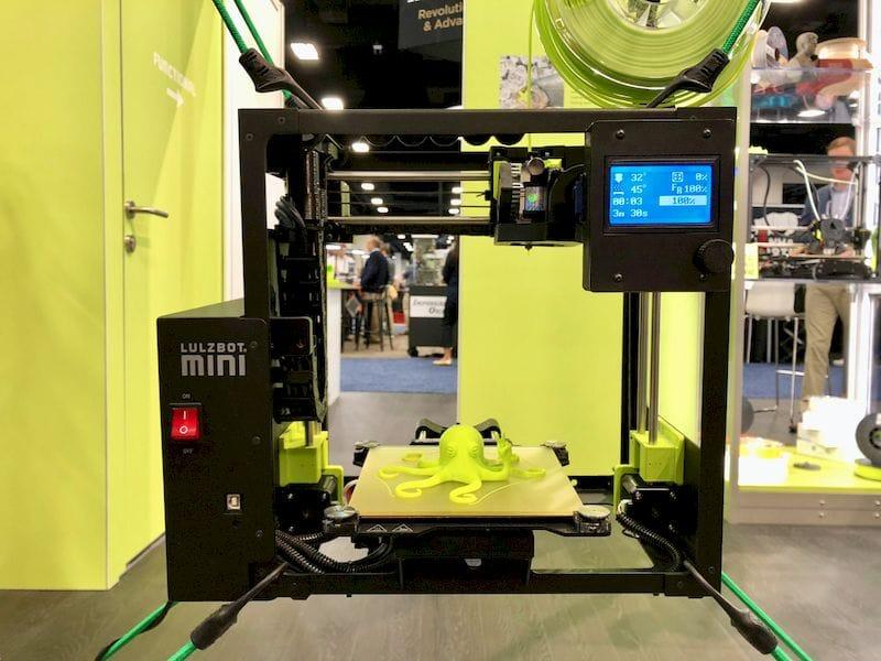 , The LulzBot Mini 2 Desktop 3D Printer