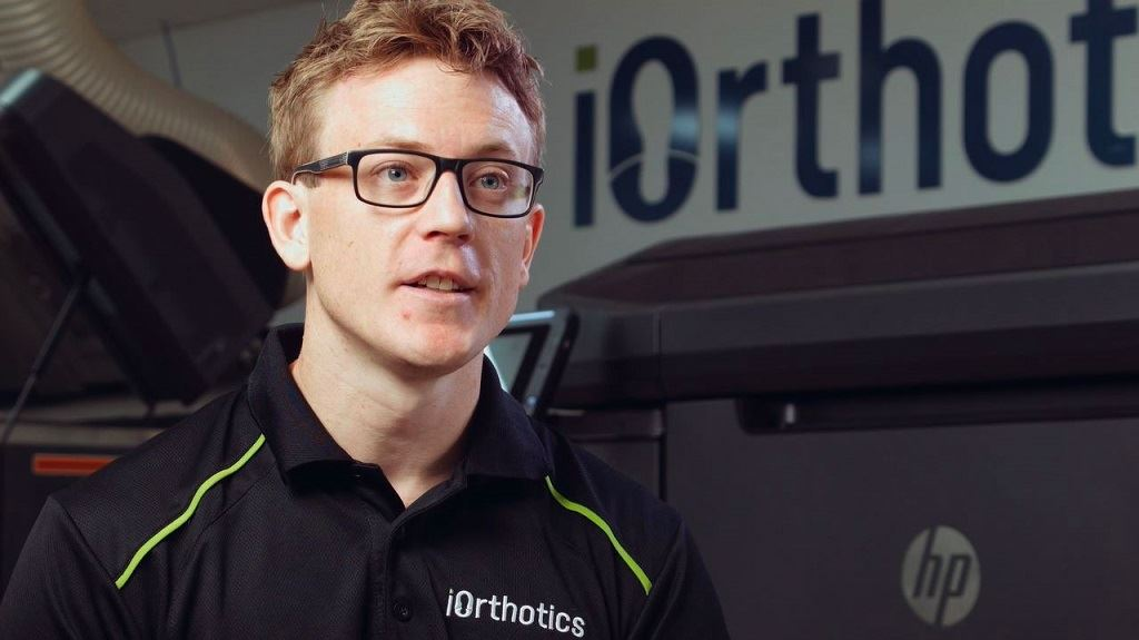 iOrthotics Founder and General Manager Dean Hartley [Source: DigiFabster]
