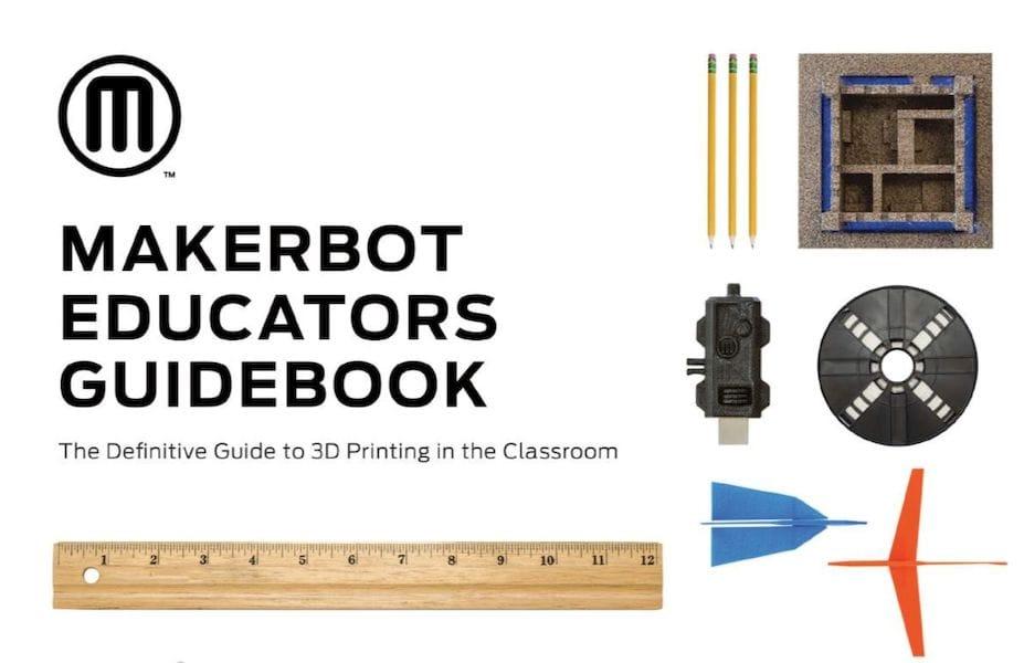 MakerBot's Educator's Guidebook is Pretty Good!
