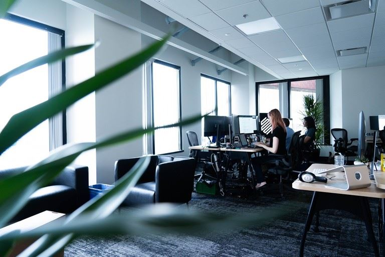 Work takes off at the new Kendall Square offices [Image: Markforged]