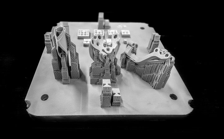 A metal build created using Materialise e-Stage for Metal [Image: Materialise]