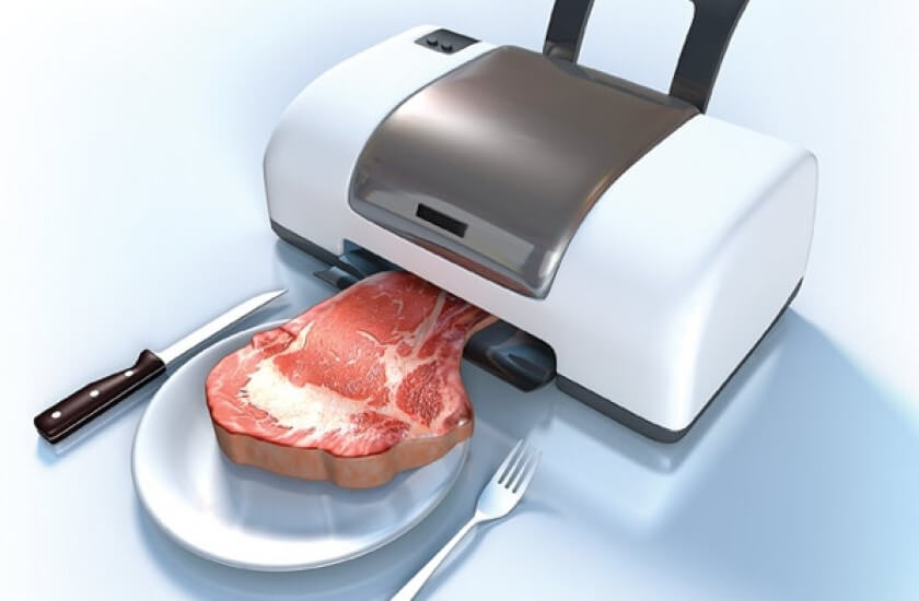 """, $6M For 3D Printed """"Meat""""?"""