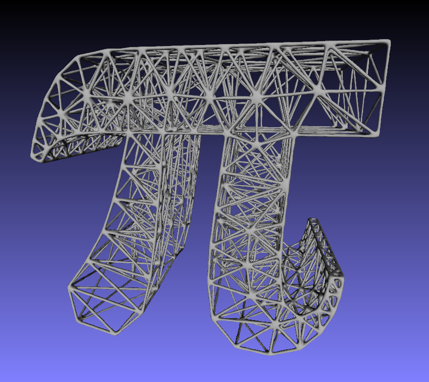 Solved: Tetrahedral Finite Element Mesh Sculptures