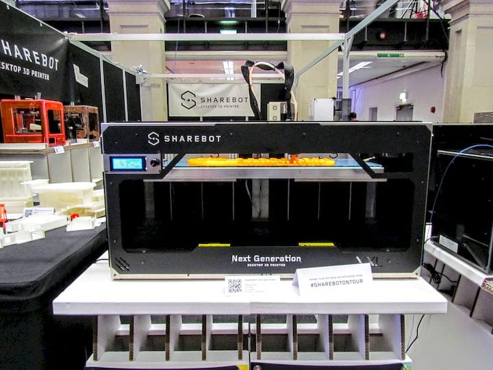 , Sharebot's New Metal 3D Printer