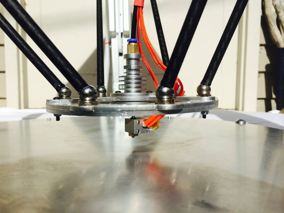 MetalTree's Large Delta 3D Printer