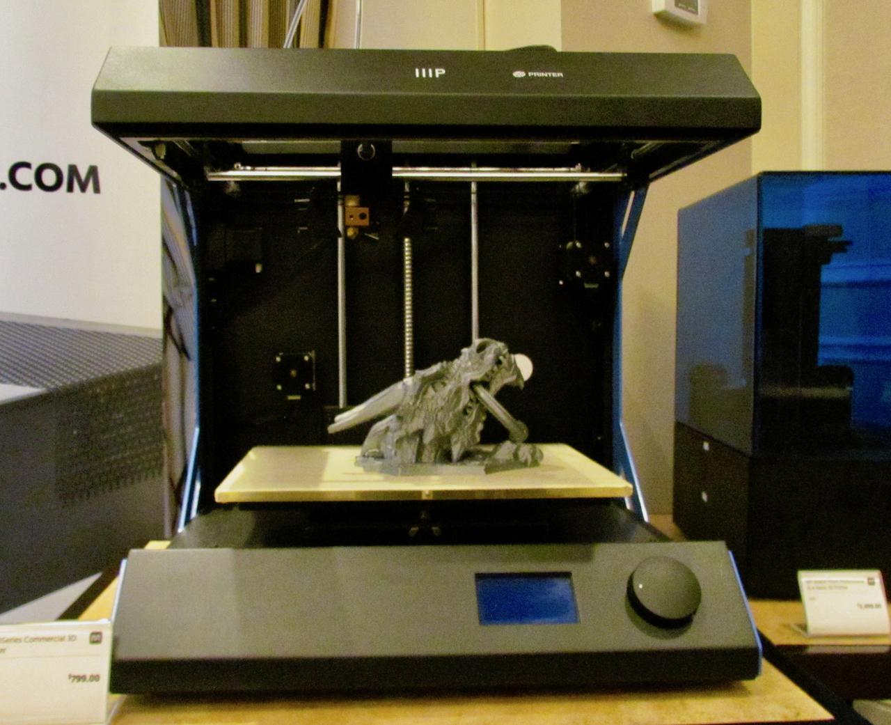The new Monoprice 3Series Commercial professional desktop 3D printer