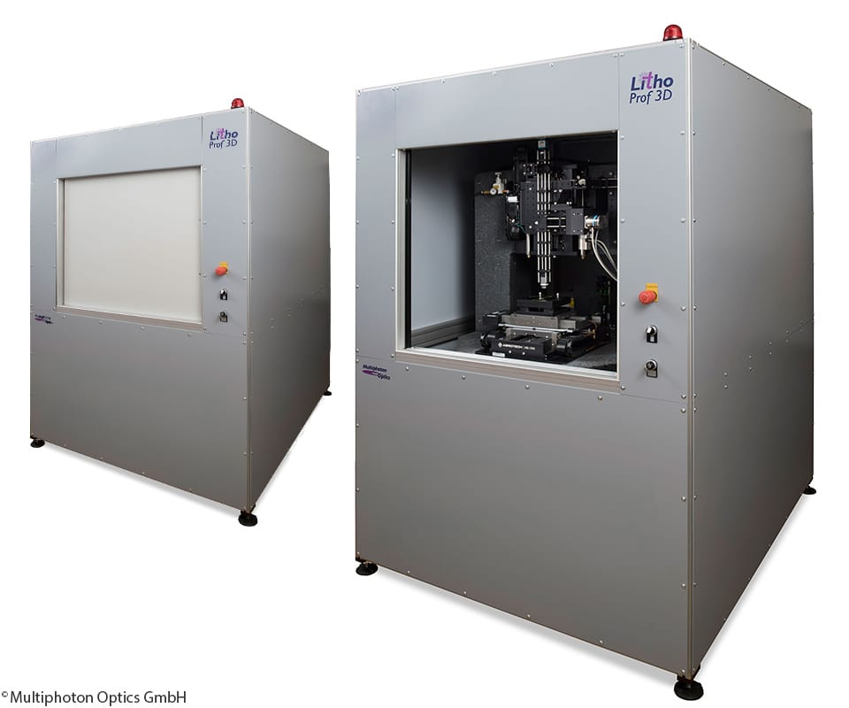 Multiphoton Optics Achieves One of the Finest 3D Printing Resolutions