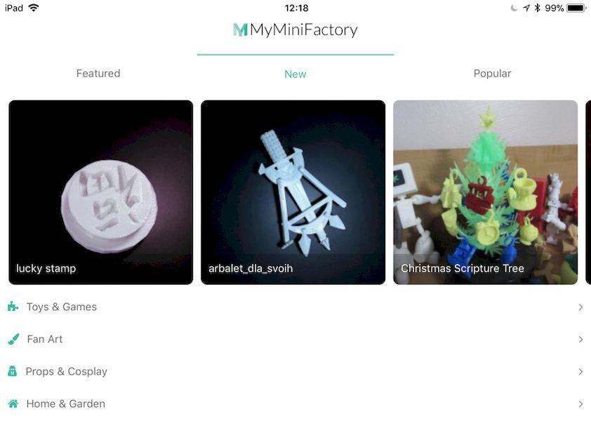 MyMiniFactory Has An App!