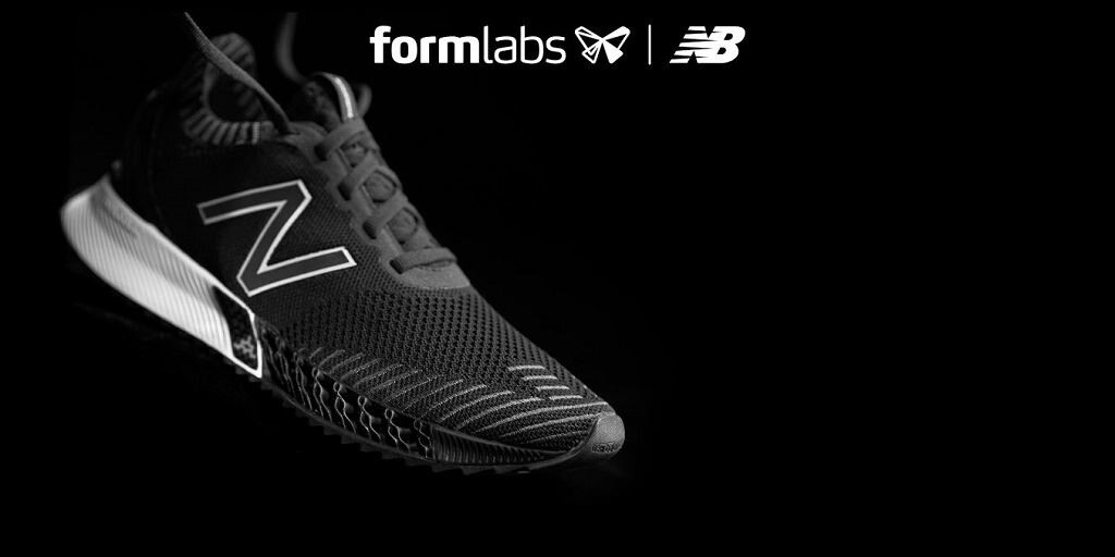 The FuelCell Echo Triple with 3D printed forefoot midsole [Image: Formlabs]