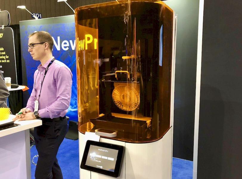 An Update on NewPro3D's Fast 3D Printer