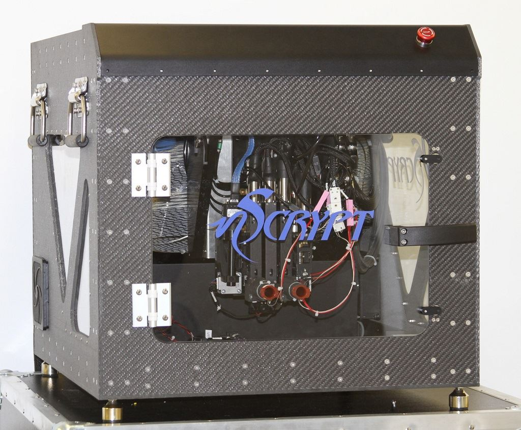 The ruggedized BAT bioprinter [Image: nScrypt]