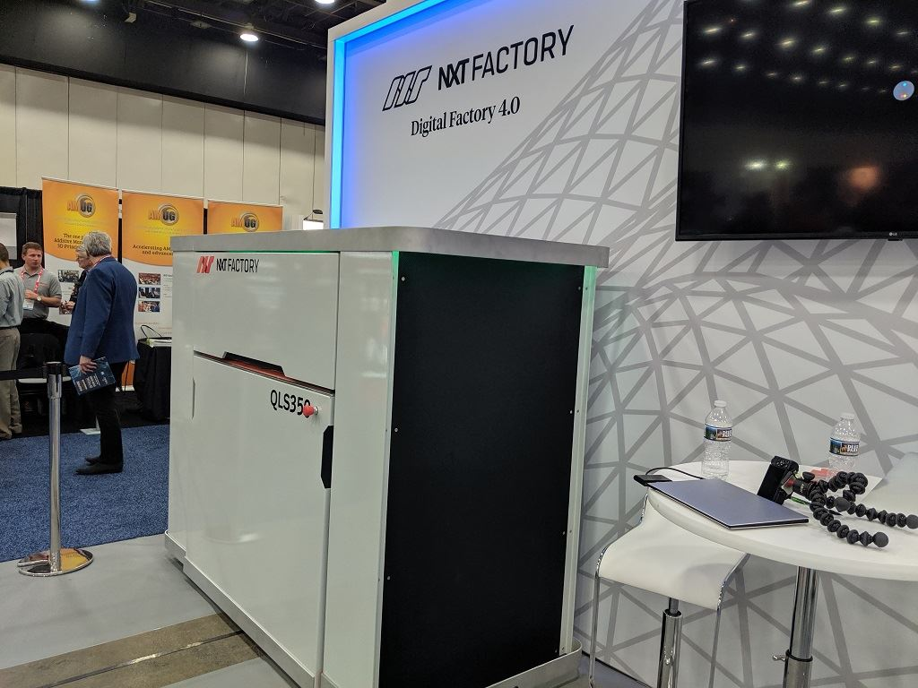 NXT Factory's Intelligent SLS 3D Printing